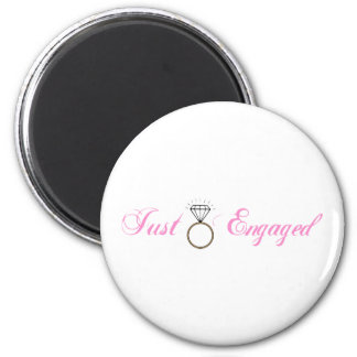 Just Engaged (Diamond Engagement Ring) Magnet