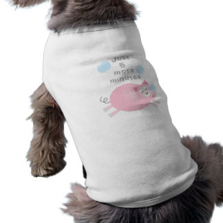 Just Five More Minutes Funny Cute Sleepy Pig Shirt