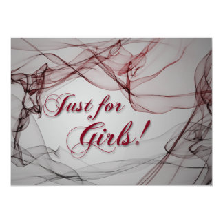 Just for Girls! Card