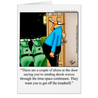 Just For Laughs Greeting Card