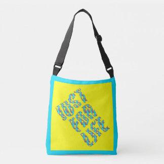 JUST FOR LIFE Custom All-Over-Print Cross Body Bag