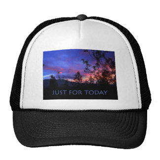 Just For Today Spring Sunrise Cap