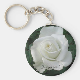 Just for you ! - Basic Button Keychain