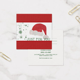 Just For You Santa Claus Gift Card Certificate