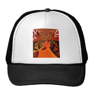 Just Funny Giraffe image design Cap
