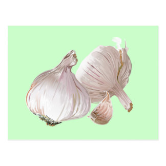 Just Garlic Postcard