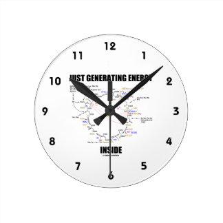 Just Generating Energy Inside Biochemistry Krebs Round Clock