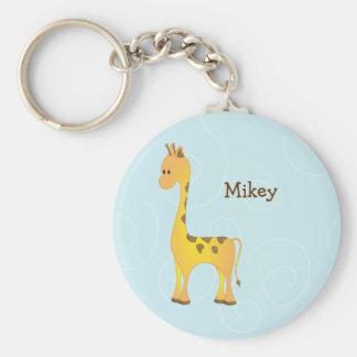 Just Giraffe Key Ring