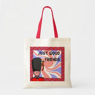 Just good friends canvas bag