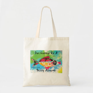Just Groovin' on a Sunday Afternoon Tote Bag