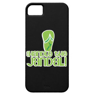 just handle the jandal! KIWI New Zealand funny say iPhone 5 Cover