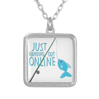 Just Hanging Out Silver Plated Necklace