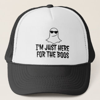 Just Here for the BOOS Halloween Trucker Hat