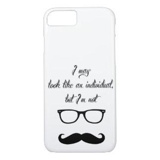Just Hipster Stuff iPhone 8/7 Case