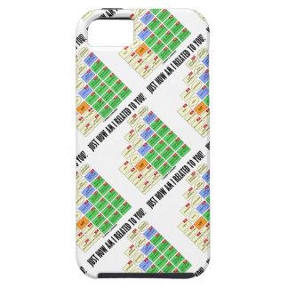 Just How Am I Related To You? (Genealogy) iPhone 5 Cover