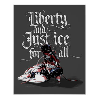 Just Ice For All (Hockey) Poster