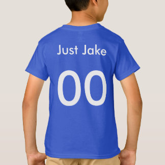Just Jake Baseball Jersey T-Shirt