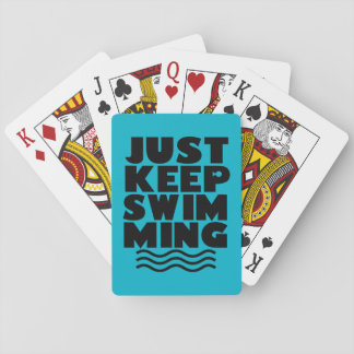 Just Keep Swimming Deck of cards