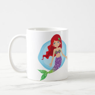 Just Keep Swimming Mermaid Cup