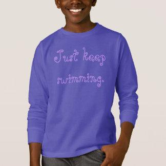 Just keep swimming nemo kids sweatshirt