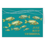 Just Keep Swimming Notecard Note Card