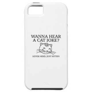 Just Kitten Tough iPhone 5 Case