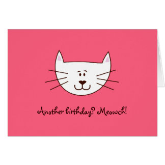 "Just ""Kittying"" greeting card"