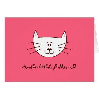 "Just ""Kittying"" greeting card"