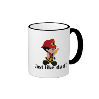 Just like Fireman Dad Coffee Mugs