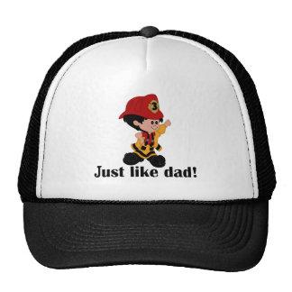 Just like Fireman Dad Hats