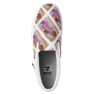 JUST LIKE MOM PRINTED SHOES