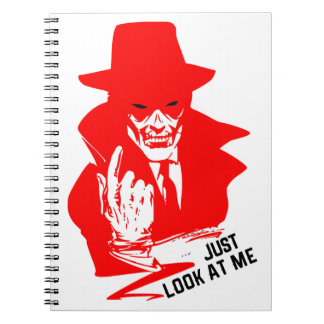 JUST LOOK AT ME NOTEBOOK