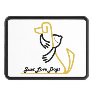 Just Love Dogs Trailer Hitch Cover Tow Hitch Covers