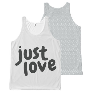 Just Love All-Over Print Tank Top