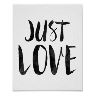 Just Love Poster
