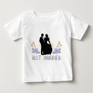 Just Married Baby T-Shirt