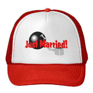 Just Married (Ball and Chain) Cap