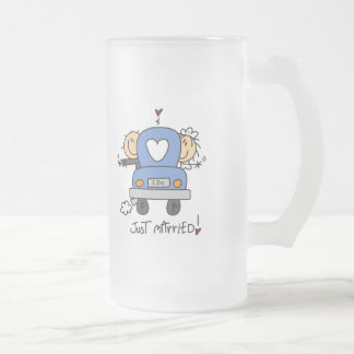 Just Married Bride and Groom T-shirts and Gifts Coffee Mugs