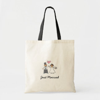 Just Married Budget Tote Budget Tote Bag