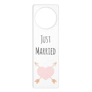 Just Married Door Hanger