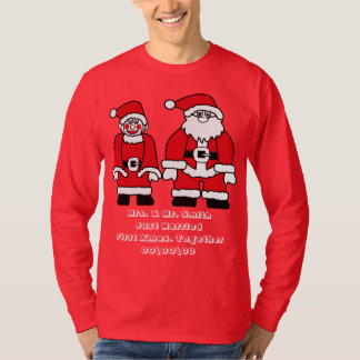 Just married, first Xmas. together T-Shirt