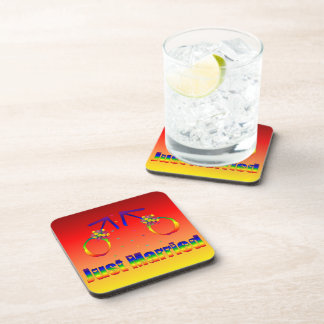 Just Married Gay Men Drink Coasters