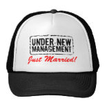 Just Married hats | Under new management