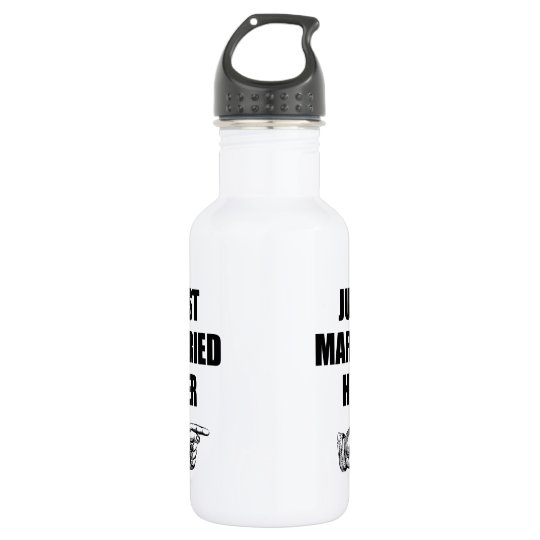 Just Married Her 532 Ml Water Bottle