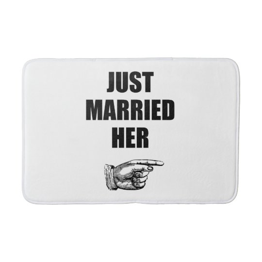 Just Married Her Bath Mats