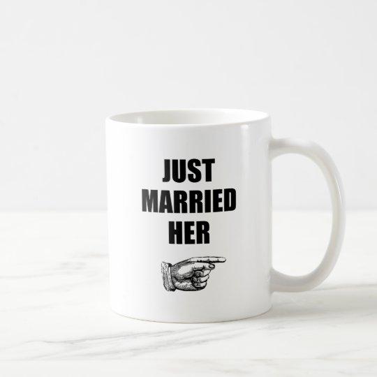 Just Married Her Coffee Mug