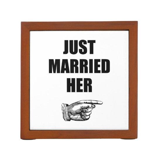 Just Married Her Desk Organiser