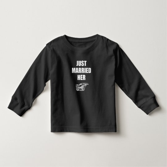 Just Married Her Toddler T-Shirt