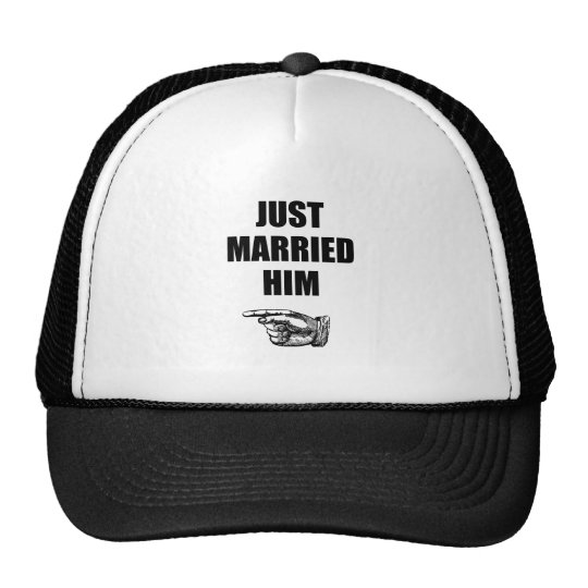 Just Married Him Cap