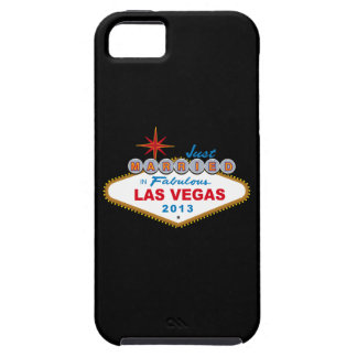 Just Married In Fabulous Las Vegas 2013 (Sign) iPhone 5 Cases